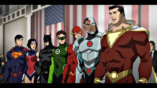 Justice League War 2014 Animation movies for kids