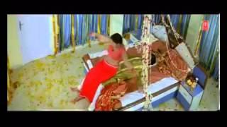 Sexy Rani Chatterjee  Hot Bhojpuri masala navel saree bedroom first night song