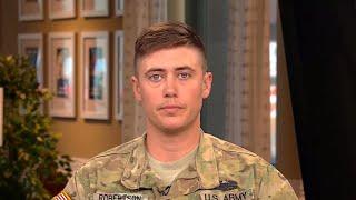 Transgender National Guardsman speaks out on Trump