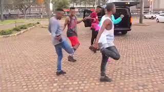 Babes Wodumo & Mampintsha dancing to new song Gandaganda