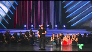 Vin Diesel y Michelle Rodriguez en los Premios Billboard 2013 fast and furios 6
