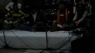 Puneet Kalra performing - Mohe aayi na jag se laj