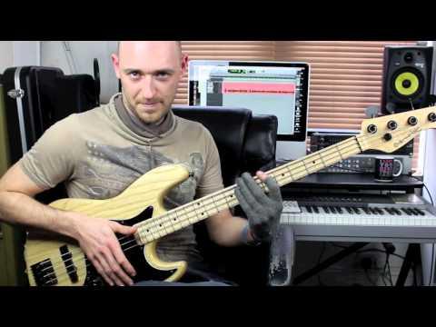 Slap Bass Lesson Beginner Intermediate with Scott Devine L 74
