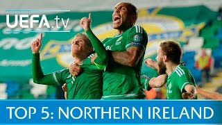 Top 5 Northern Ireland EURO 2016 qualifying goals: Lafferty, Davis and more