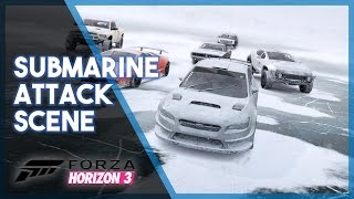 Forza Horizon 3 | Fate of the Furious Recreation (Submarine Attack Scene)