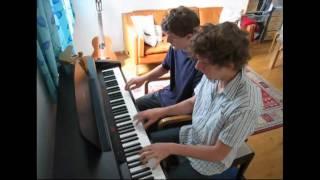 Boogie Down - Al Jarreau - (Piano cover)