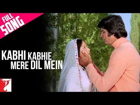 Xxx Mp4 Kabhi Kabhie Mere Dil Mein Male Full Song Kabhi Kabhie Amitabh Bachchan Rakhee Mukesh 3gp Sex