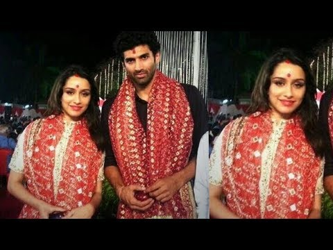 Xxx Mp4 Shraddha Kapoor Gets Married To Aditya Roy Kapoor In Real Life Aasiqui 2 Couple ❤ 3gp Sex