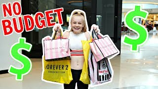 TEEN NO BUDGET CLOTHES SHOPPING CHALLENGE!! 🤑🛍️