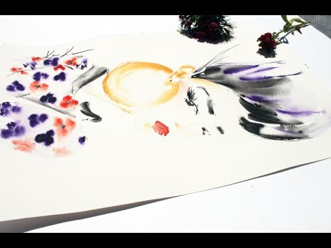 4 TYPES OF WATERCOLOR PAPER FOR FLUID PAINTINGS