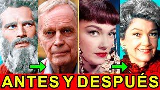 Los Diez Mandamientos Antes y Después 2017 ¡Charlton Heston, Ben-Hur!