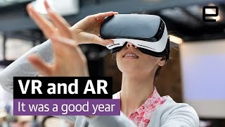 VR and AR go mainstream: Year in Review