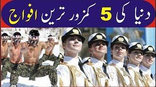 Top 5 Weakest Armies in The World   Urdu/Hindi
