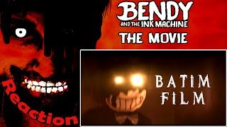 Bendy and the Ink Machine: The Movie REACTION!   INFECTED WITH INK?!  