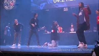 KOD World Cup 2016 Semi Final | FRANCE vs CHINA - KODTV Live Stream - Les Twins/Waydi/Boubou