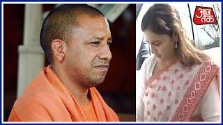 Aparna Yadav Meets Yogi Adityanath In Lucknow