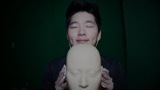 ASMR Ear Massage and Cleaning (No Talking) - Shaving Foam, Cream, Oil, Rubbing, Cupping