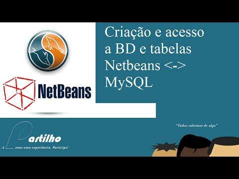 Netbeans e MySQL: Criação e Manipulação de BD