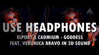 3D Audio (Bass Boosted) | Elport X Cadmium - Goddess (3D Audio!!) | Lazy Boys Productions