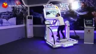 9D interactive VR Simulator Popular VR Skiing