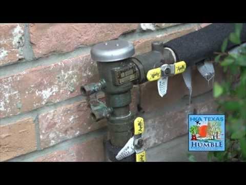 Winterizing your backflow preventer on your sprinkler irrigation system