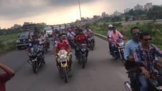 motor biking with madam khaleda zia in dhaka, bangladesh