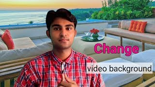 How to Change Video Background using Mobile || Kinemaster tutorial in Detail