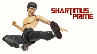 SH Figuarts Bruce Lee Bandai Tamashii Nations Martial Arts Master Enter the Dragon Movie Toy Figure