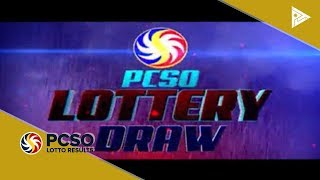 PCSO 11 AM Lotto Draw, January 24, 2019