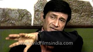 Indian actor Dev Anand speaks about his past of struggle