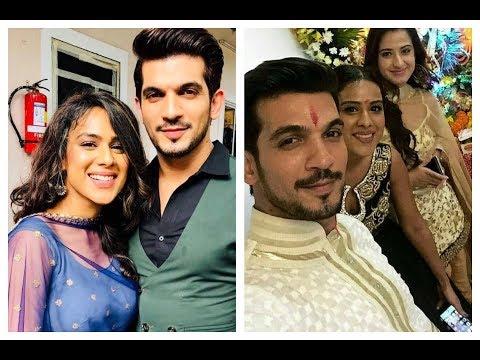 Xxx Mp4 Nia Sharma Arjun Bijlani Aalisha Panwar Masti On Ishq Mein Marjawan Set 3gp Sex