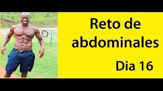 ABDOMINALES EN 30 DIAS ( RETO DIA 16)
