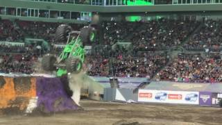 Grave Digger Backflip Accident