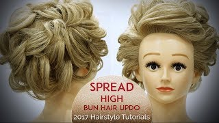 High Bun Hairstyle Tutorial Video | 2017 Best & Latest Hairstyle Tutorials | Krushhh by Konica