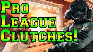 Pro League Clutches! - MilSPEC vs. Ferocity  - Rainbow Six Siege