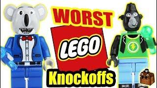 Worst LEGO Knockoff Minifigures 2018