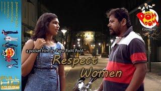 Respect women II ନାରୀଙ୍କୁ ସମ୍ମାନ ଦିଅ - Papu PoM PoM Creations