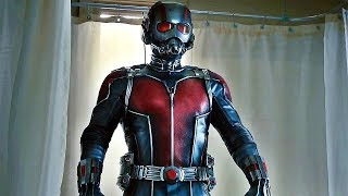 Ant-Man Tries On His Suit For The First Time - Bathroom Scene - Ant-Man (2015) Movie CLIP HD [1080p]