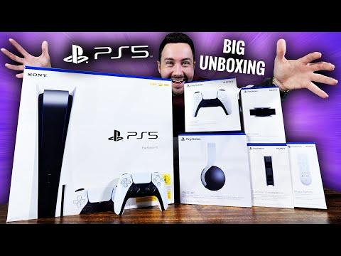 Gros Unboxing PS5 Tous les Accessoires
