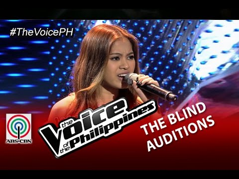 """The Voice of the Philippines Blind Audition """"When I Was Your Man"""" by Monique Lualhati (Season 2)"""