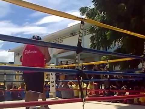 Wilmito vs pequeño Juan en Uribana 08 14