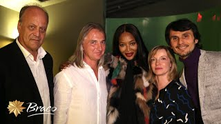 Naomi Campbell and Braco at NYC premiere of Power of Silence October 2016