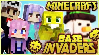 So Close!!   Minecraft Base Invaders!