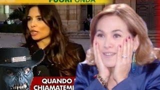 Barbara D'Urso: Fuorionda Pomeriggio 5 La Televisione del Falso, ignobile!
