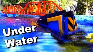 Lego train under water (Part 2)