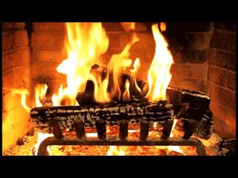 Traditional Christmas Carols with a Log Fire