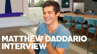 Matthew Daddario Gives RAW Interview