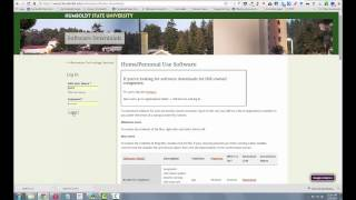 Humboldt State University Camtasia Download (for home)