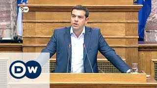 Greek PM Alexis Tsipras remains defiant   Journal