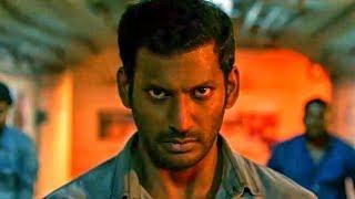 The Return Of Abhimanyu Action Scene | Vishal Hindi Dubbed Best Action Scene